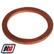 Copper Washer For 14mm Banjo Bolts And Fuel Fittings